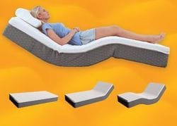 Flexicare King Split Adjustable Mattress
