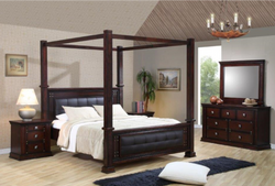 Norwood King 4 Post Bed