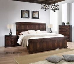 Tomaz King Bed