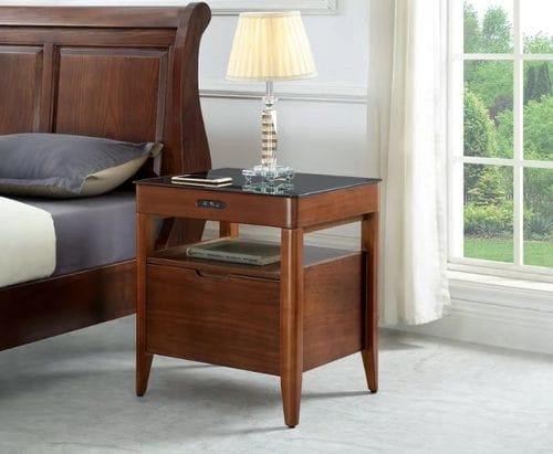 Betta High Tech Bedside Table Main