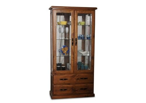 Drover Large Glass Display Cabinet Main