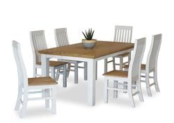 Hamptons 7 Piece Dining Suite 1600 Table