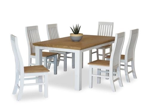 Hamptons 7 Piece Dining Suite 1600 Table Main
