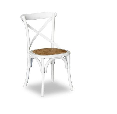 Bentwood Elm Wood Crossback Dining Chair - Set of 2 Main