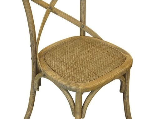 Bentwood Elm Wood Crossback Dining Chair - Set of 2 Related