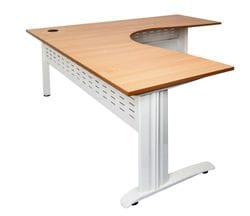 Rapid Span Corner Desk 1800/1200mm (Beech)