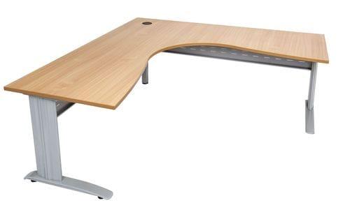 Rapid Span Corner Desk 1800/1800mm (Beech) Main