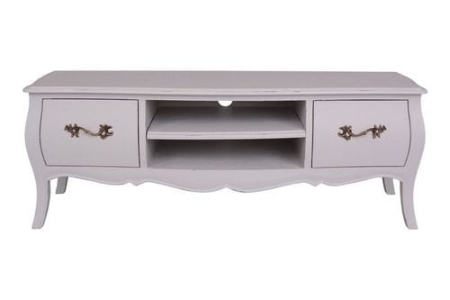 French Provincial Tv Unit Related