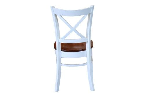 Crossback Two-Tone Dining Chair - Set of 2 Related