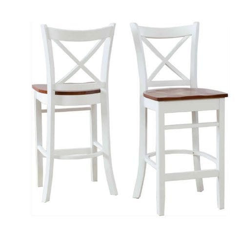 Crossback Bar Stool - Set of 2 Related