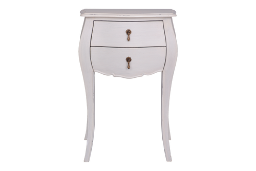 French Provincial 2 Drawer Bedside Related