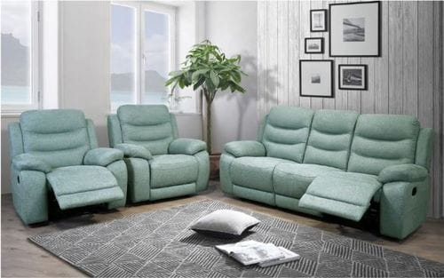 Donvale 3 Seater Reclining Lounge Suite Main