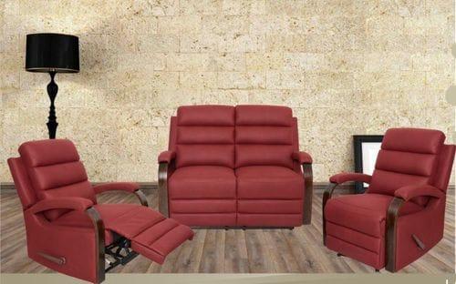Albert 4 Piece Reclining Lounge Suite Main