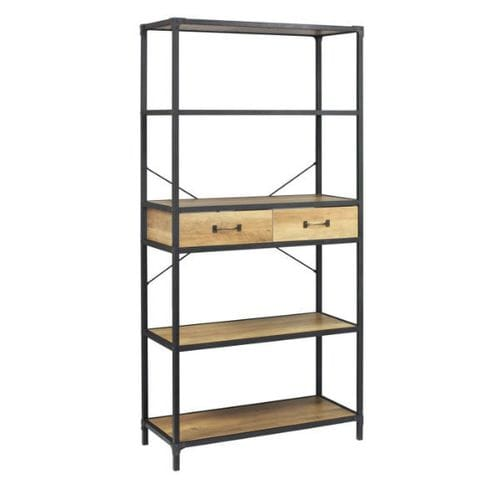 Reading Bookcase w-Drawers Main