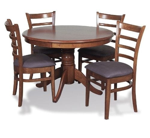 Mustang 5pc Dining Suite Main