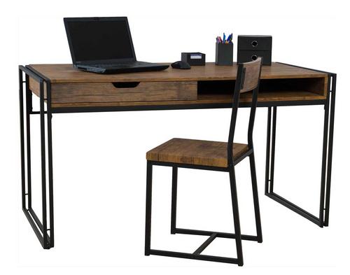 Ironstone Large Desk & Chair Main