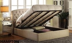 Hampton King Gas Lift Bed