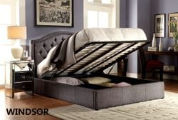Windsor King Gas Lift Bed