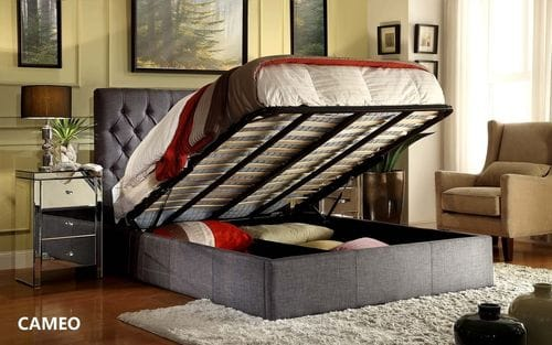 Cameo Queen Gas Lift Bed Main