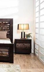 Wattle Bedside Table