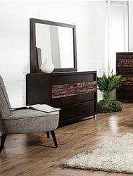 Wattle Dresser & Mirror