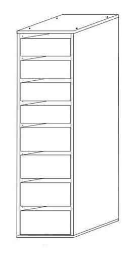 Wardrobe Insert - 8 Drawers Main