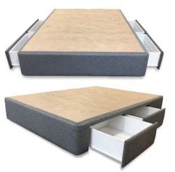 Double Infinity Ensemble Base - 4 Drawer Warwick Fabric Range