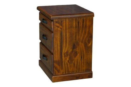 Drover 3 Drawer Bedside Table Related