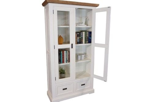 Hamptons Large Glass Display Unit Related