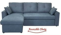 Dover 2 Seater + Chaise + Sofa Bed