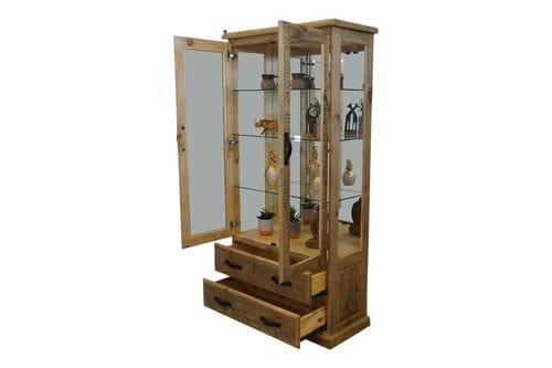 Outback Large Glass Display Cabinet Related