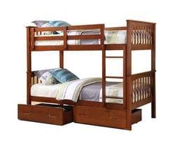 Brighton Single/Single Bunk Bed