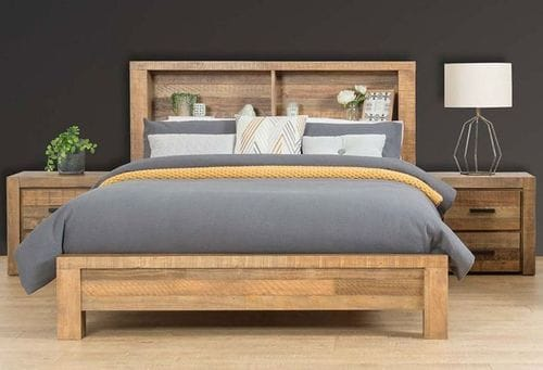 Cassie Queen Bookcase Bed Main