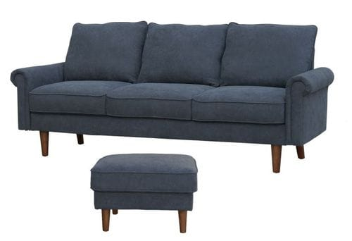 Cambridge 3 Seater Lounge with Ottoman Main