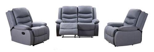 Daytona 2 Seater Reclining Lounge Suite Main