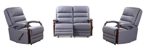 Farrow 2 Seater Reclining Lounge Suite Main