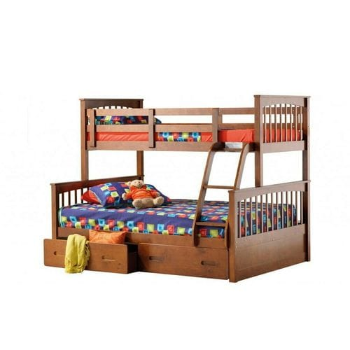Brighton Single/Double Bunk Bed with Drawers Related