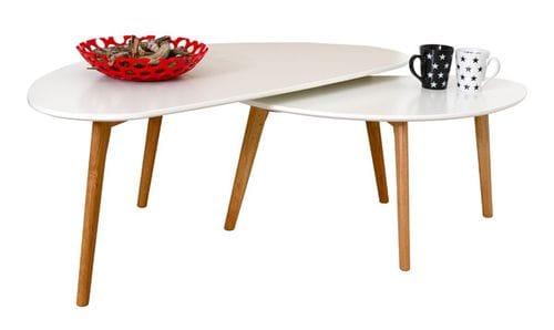 Danish Coffee Table - Half Moon Main