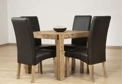 Hadley 5 Piece Dining Suite - Square