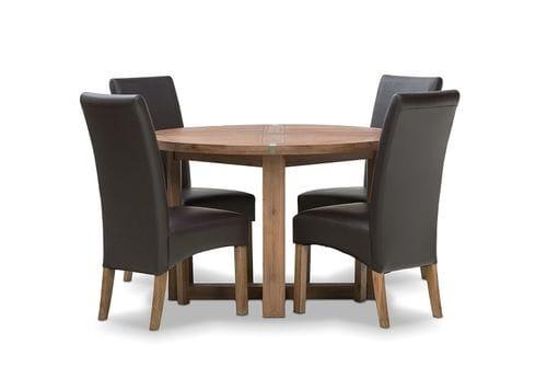 Hadley 5 Piece Dining Suite - Round Main