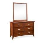 Clovelly Dresser and Mirror