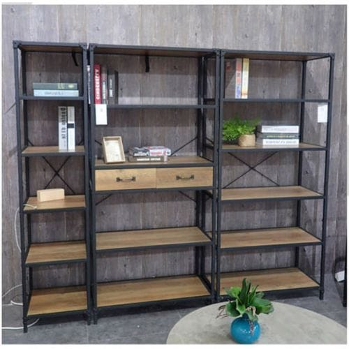 Reading Bookcase w-Drawers Related