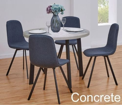 Stacey 5 Piece Round Dining Suite Main