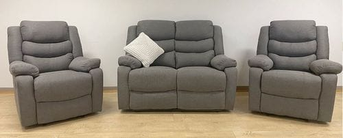Berlin 2 Seater Reclining Lounge Suite Main