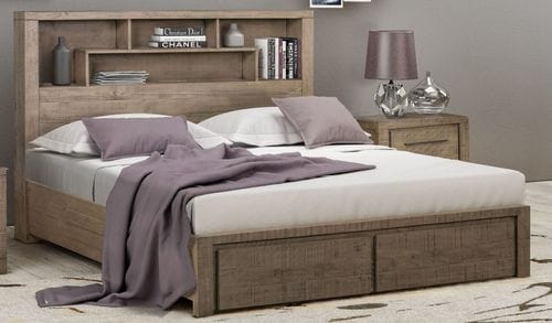 Sussex King Bed with Drawers Main