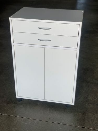 Microwave Utility Trolley - 2 Drawers Main