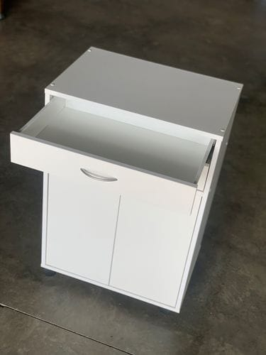 Microwave Utility Trolley - 2 Drawers Related