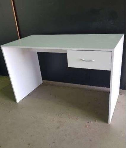 1 Drawer White Desk Main