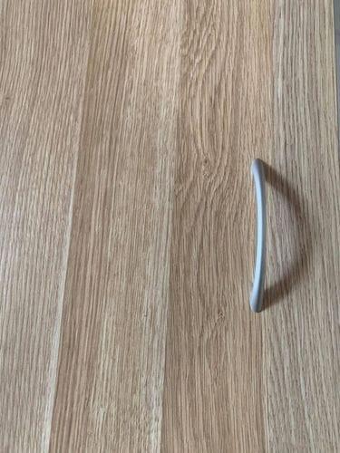 Bedside 3 Drawer - Natural Oak & White Related