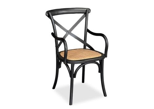 Crossback Dining Chair With Arms - Set of 2 Main